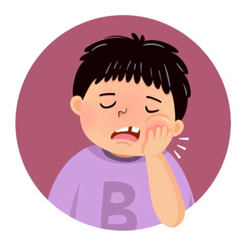 El diente roto