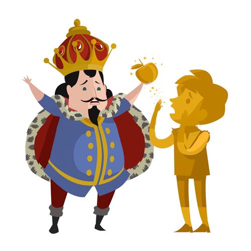 El toque de oro