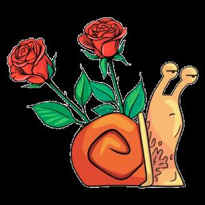 El caracol y el rosal
