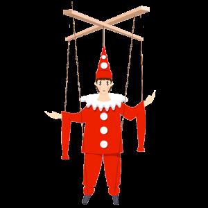 La marioneta de trapo