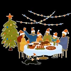 La fiesta de Navidad de Reginald